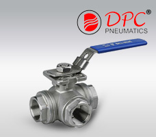 3 Way High Mounting Pad Ball Valve