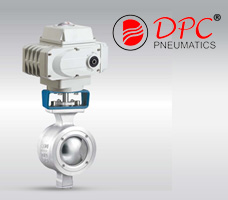 Electric V-Type Ball Valve